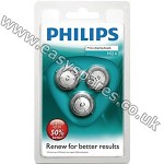 Philips Philishave HQ6/50 Quadra & Aquagenic Triple Pack Rotary Cutting Head HQ6PK3 (Genuine)
