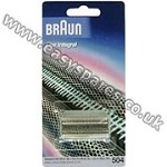 Braun 504 Flex Integral Grey Foil BR1012 ***OBSOLETE*** ***USE BR1054*** (Genuine)