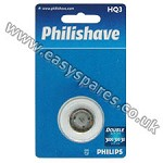 Philips Philishave Double Action Triple Pack Rotary Cutting Head HQ3 ***OBSOLETE*** ***USE HQ56*** (Genuine)