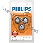 Philips Philishave Micro Action Triple Pack Rotary Cutting Head HQ4 ***OBSOLETE*** USE HQ56*** (Genuine)