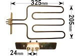2050W PHILIPS/ WHIRLPOOL GRILL ELEMENT