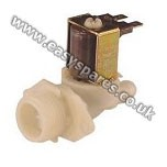 Beko Inlet Solenoid Valve Single Hot & Cold Fill 180Deg 2801550100 (Genuine)