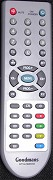 Genuine GOODMANS LCD TV Remote Control