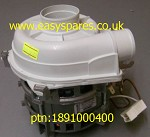 Genuine BEKO Dishwasher Circulation Motor: 1891000400