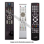 Asda LEDVDVCR0801 Replacement Remote Control ASDALEDVDVCR0