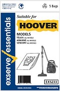 Exserve Essentials 'Hoover' Vacuum Cleaner Bag: EXS233