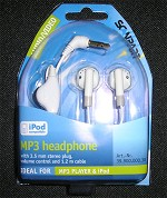 SCANPART MP3 Headphones (suitable for all iPods)