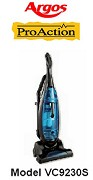 Argos Proaction Bagless Vacuum Cleaner Model VC9230S
