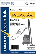 Exserve Essentials 'Pro Action' Vacuum Cleaner Bag: EXS65