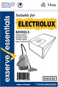 Exserve Essentials 'Electrolux' Vacuum Cleaner Bag: EXS332